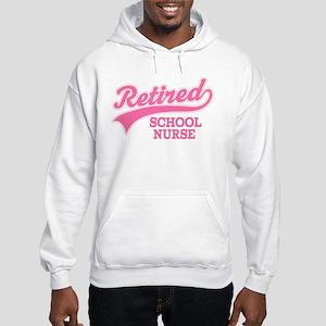 Retired School Nurse Hooded Sweatshirt