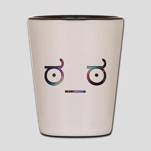 Serious Face - Cosmic Shot Glass