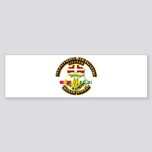 1st Battalion, 6th Infantry Sticker (Bumper)