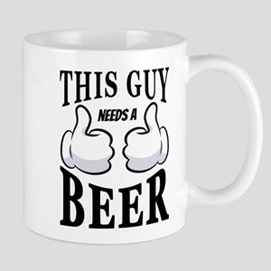 Funny   This Guy Needs a Beer Mugs