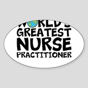 World's Greatest Nurse Practitioner Sticker