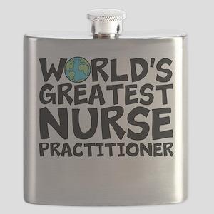 World's Greatest Nurse Practitioner Flask
