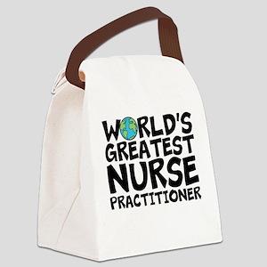 World's Greatest Nurse Practitioner Canvas Lun