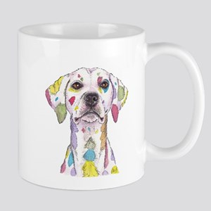 Rainbow Dalmation Mug