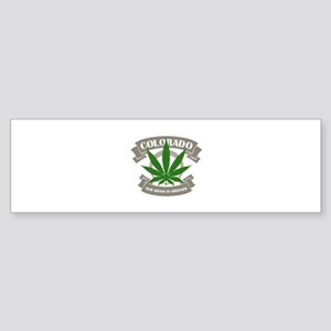 Colorado Weed Bumper Sticker