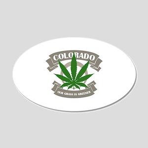 Colorado Weed Wall Sticker