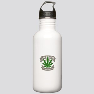 Colorado Weed Sports Water Bottle