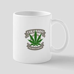 Colorado Weed Small Mug