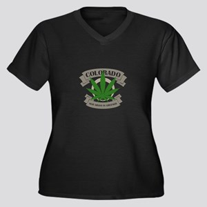Colorado Weed Plus Size T-Shirt