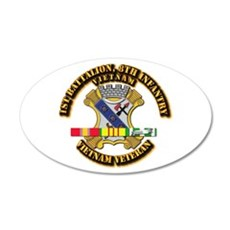 1st Battalion, 6th Infantry Wall Decal