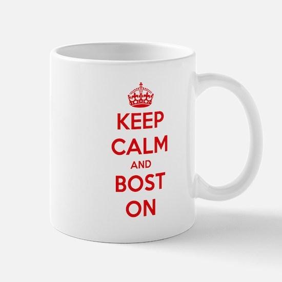 Keep Calm and Boston Mug