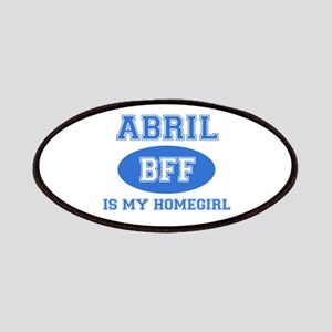 Abril is my homegirl Patches