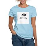 Born in Oakland Women's Light T-Shirt