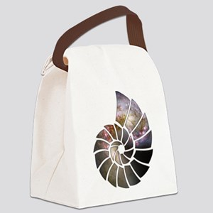 Cosmic Shell Canvas Lunch Bag