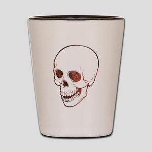 Cosmic Skull Shot Glass