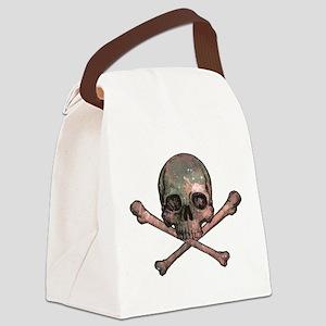 Skull and Bones - Cosmic Canvas Lunch Bag
