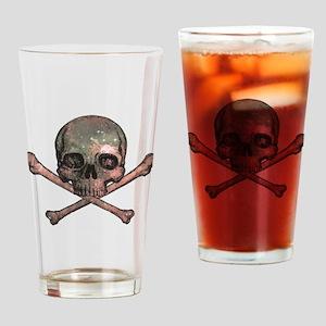 Skull and Bones - Cosmic Drinking Glass