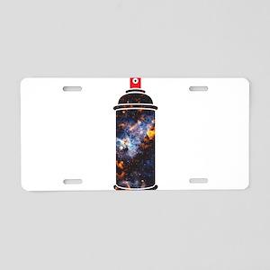 Spray Paint - Cosmic Aluminum License Plate