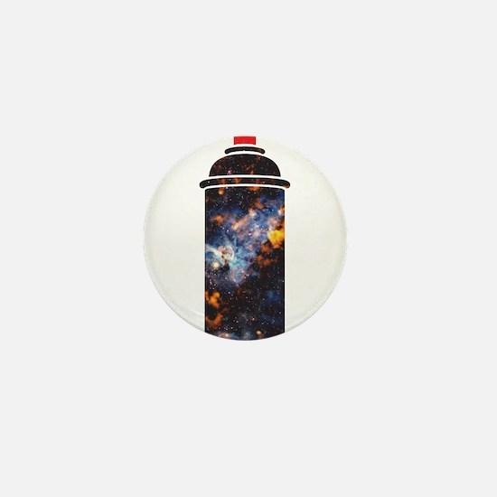 Spray Paint - Cosmic Mini Button