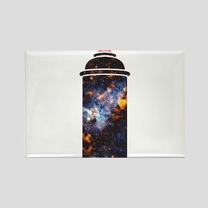 Spray Paint - Cosmic Rectangle Magnet