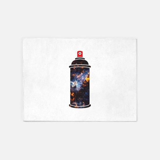 Spray Paint - Cosmic 5'x7'Area Rug