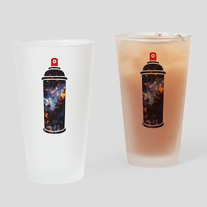 Spray Paint - Cosmic Drinking Glass
