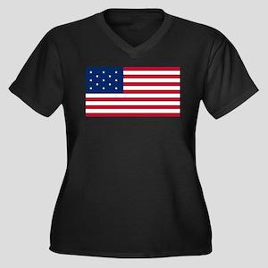 US 2nd - 13 Star Plus Size T-Shirt