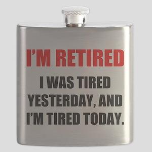 I'm Retired Flask
