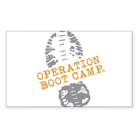 Operation Boot Camp Color Logo Sticker