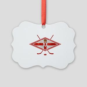 Northern Ireland Ice Hockey Ornament
