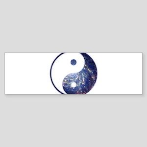 Yin Yang - Cosmic Bumper Sticker