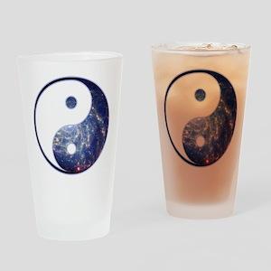 Yin Yang - Cosmic Drinking Glass