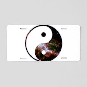 Yin Yang - Cosmic Aluminum License Plate