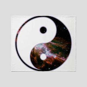 Yin Yang - Cosmic Throw Blanket