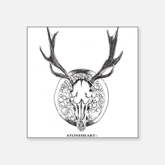 Deer Skull by Stoneheart Sticker