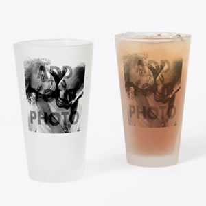 Add Your Own Photo Drinking Glass