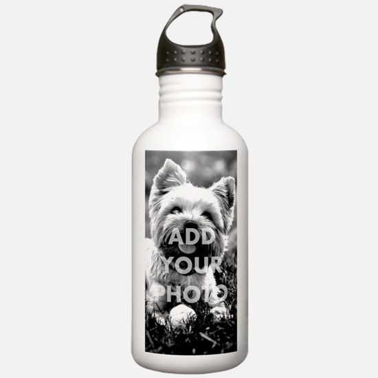 Add Your Own Photo Sports Water Bottle