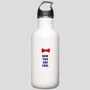 Bow ties are cool Water Bottle