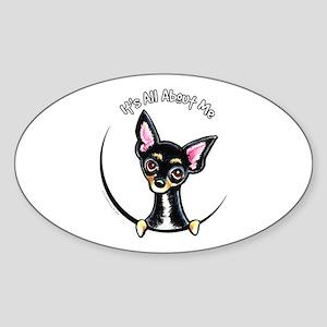 B/T Chihuahua IAAM Sticker (Oval)