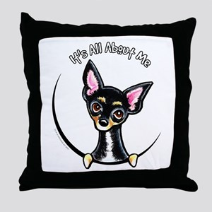 B/T Chihuahua IAAM Throw Pillow