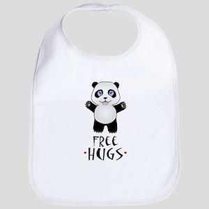 Free Panda Hugs Bib
