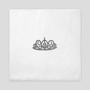 Tiaras and Crowns Queen Duvet