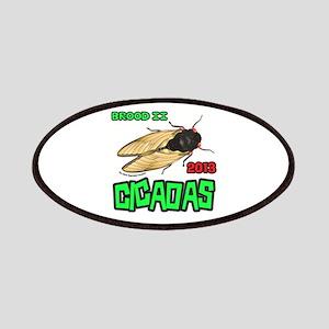 Brood II Cicadas 2013 Patches