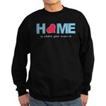 Home is where your mom is (light) Sudaderas