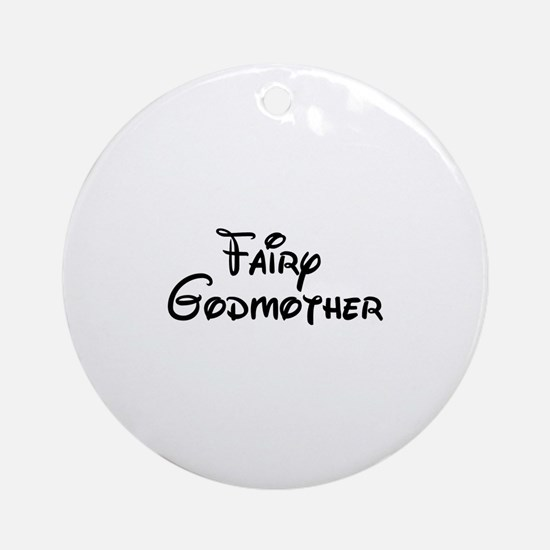Fairy Godmother's Ornament (Round)