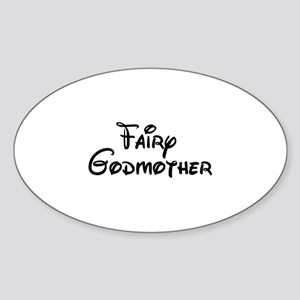 Fairy Godmother's Sticker (Oval)
