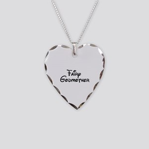 Fairy Godmother's Necklace Heart Charm
