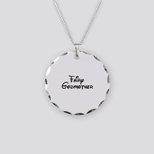 Fairy Godmother's Necklace Circle Charm