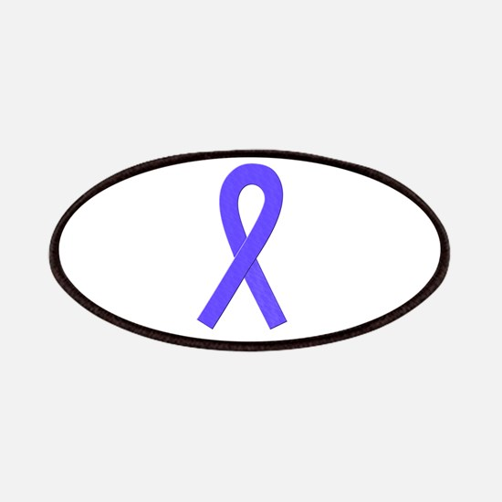 Periwinkle Awareness Ribbon Patches