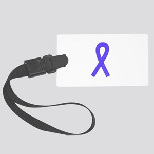 Periwinkle Awareness Ribbon Luggage Tag